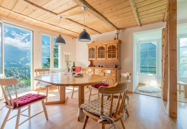 Appartement à Wengen au Chalet Hunnenfluh présenté par Alpine Holiday Services