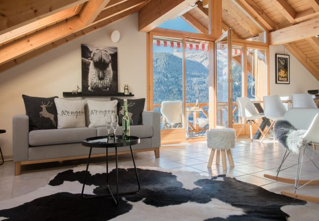 in Wengen - Chalet Rose Penthouse